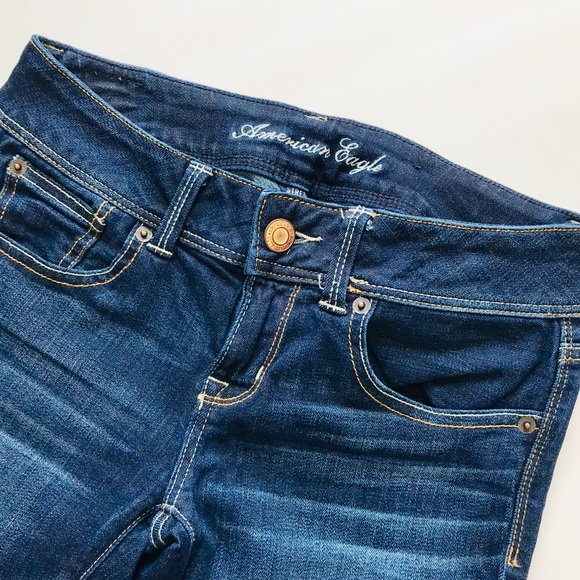 American Eagle Outfitters Denim - 🛍 Price Is Firm - American Eagle Dark Blue Jeans